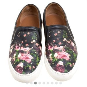 Givenchy slip on floral sneakers